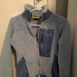 XS Light Blue Mountain Hardware Jacket